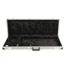 Case para Guitarra Stratocaster e Telecaster Deluxe Hardshell Fender - Black Tweed (BTW)