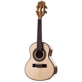 Cavaquinho Concertista RC06ACN-C com Case Rozini - Natural (Maple) (MA)