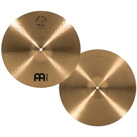 "Chimbal Hi Hat 14"" Polegadas Pure Alloy Medium Meinl"