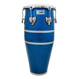 "Conga Slim 10""½ (SPT) Azul Ferro Cromada Animal Luen"