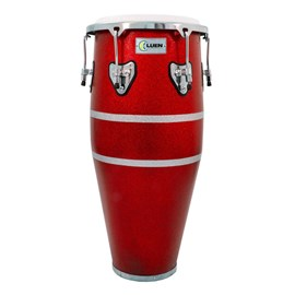 "Conga Slim 11""½ (SPT) Red Ferro Cromada Animal Luen"