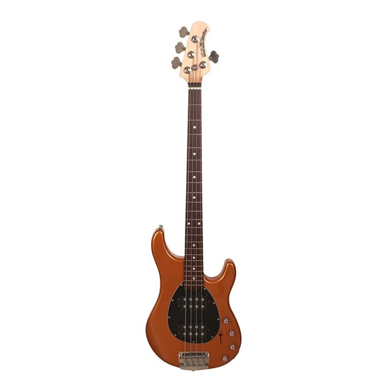 Contrabaixo 4C Sterling Sting Ray 4 Cordas Sterling By Music Man - Laranja (Orange Firemist) (OFM)