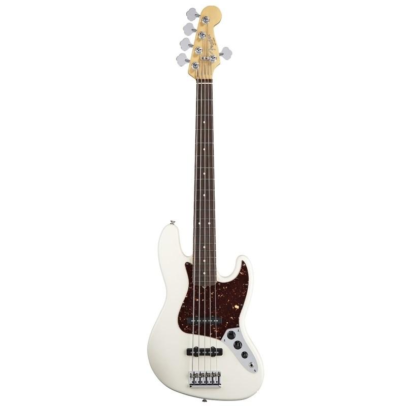 Contrabaixo 5 Cordas American Standard Jazz Bass® Fender - Branco (Olympic White) (05)