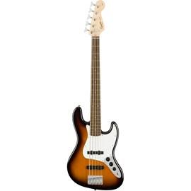 Contrabaixo 5C Affinity J. Bass V LR 0371575532 Squier By Fender - Sunburst (Brown Sunburst) (532)