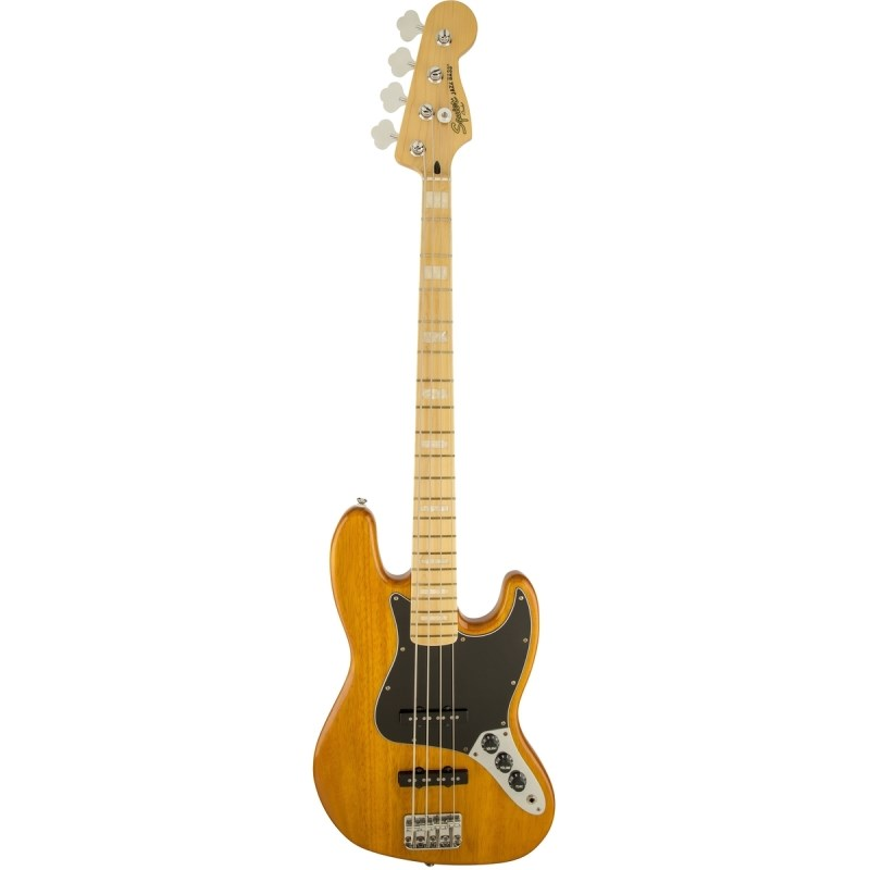 Contrabaixo 77 Vintage Modified Jazz. Bass Squier By Fender - Amarelo (Amber) (520)