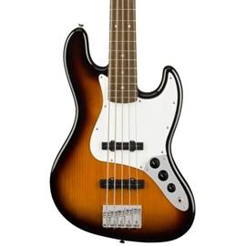 Contrabaixo Affinity Series de 5 Cordas Jazz Bass V Escala em Laurel Squier By Fender - Sunburst (Brown Sunburst) (32)