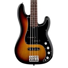 Contrabaixo American Deluxe Precison Bass® com Case Fender - Sunburst (3-color Sunburst) (00)