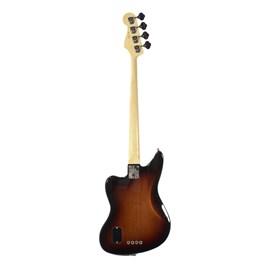 Contrabaixo American Standard Jaguar Bass Com Hard Case Standard Fender - Sunburst (3-color Sunburst