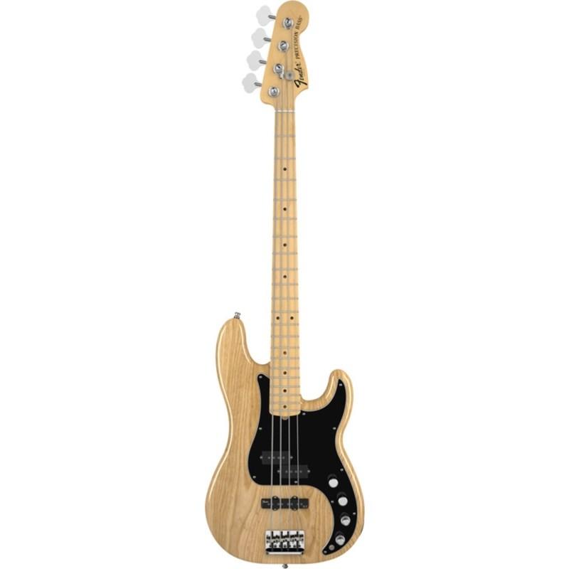 Contrabaixo Fender American Deluxe Precision Bass Ash® Fender - Natural (21)