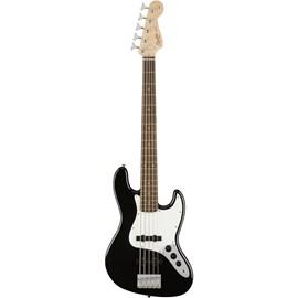 Contrabaixo Jazz Bass 5 cordas Escala em Laurel Squier By Fender - Preto (Black) (506)