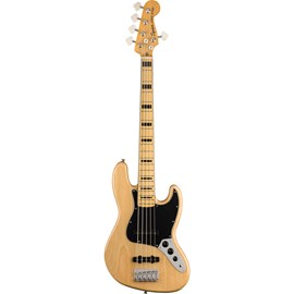 """Contrabaixo Jazz Bass Classic Vibe Series 70"""" V Maple Neck Squier By Fender - Natural (021)"""