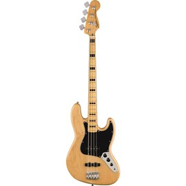 Contrabaixo Jazz Bass Classic Vibes 70's Escala em Maple - Natural Squier By Fender - Natural (21)