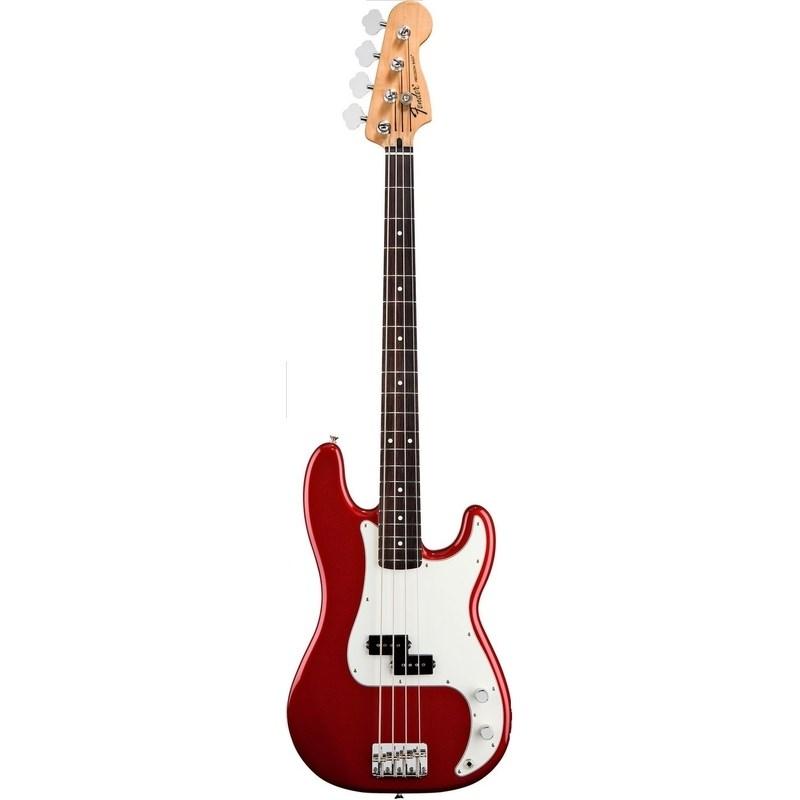 Contrabaixo Precision Bass Standard Fender - Vermelho (Candy Apple Red) (09)