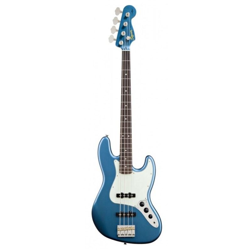 Contrabaixo Signature James Johnston Jazz Bass 4 Cordas Squier By Fender - Azul (Laked Placid Blue)