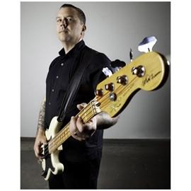 Contrabaixo Signature Matt Freeman Precision Bass Squier By Fender - Branco (Vintage White) (541)
