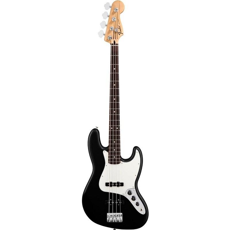 Contrabaixo Standard Jazz Bass Fender - Preto (Black) (06)