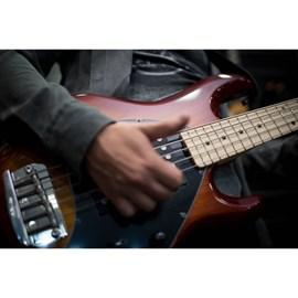 Contrabaixo Sting Ray HH MP 5 Cordas Music Man - Sunburst (Honey Burst) (HB)