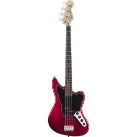 Contrabaixo Vintage Modified Jaguar Bass Special 0328900 Squier By Fender - Crimson Red Transparent