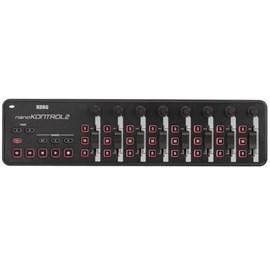 Controlador Mixer Nano Kontrol II USB Midi Korg - Preto (BK)