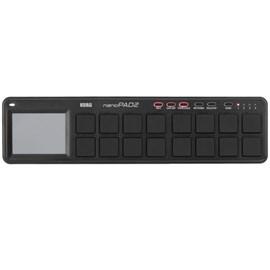 Controlador Nano Pad II USB Midi Korg - Preto (BK)
