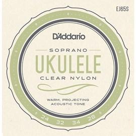 Corda EJ65s para Ukulele Soprano D'Addario