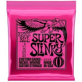 Corda Ernie Ball Super Slinky 2223 (0.09) para Guitarra Ernie Ball