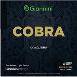 Corda Giannini Bronze Ccv82l 80/20 Leve para Cavaco Giannini