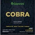 Corda Giannini para Viola Cv82m Bronze 80/20 Cebolão em Ré Giannini