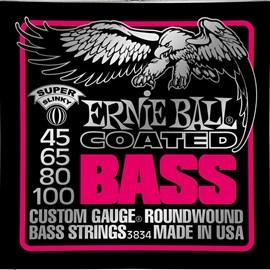 Corda para Baixo 4 Cordas Coated Super Slinky  0.045-0.100 Ernie Ball