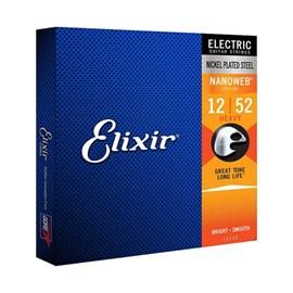 Corda para Guitarra 0.012- 0.053 Heavy Elixir