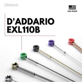 Corda para Guitarra D'addário Exl110 B+pl010 Encordoamento D'addario