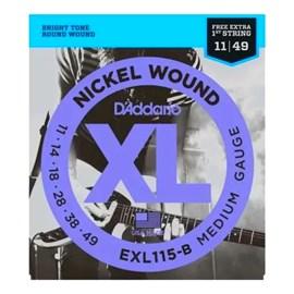 Corda para Guitarra Exl115 B+pl011 D'addario