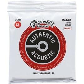 Corda para Violão Aço Authentic Acoustic 012-054 Martin