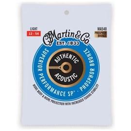 Corda para Violão Aço Authentic Acoustic .012-.054 Martin