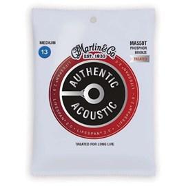Corda para Violão Aço Authentic Acoustic 013-056 Martin