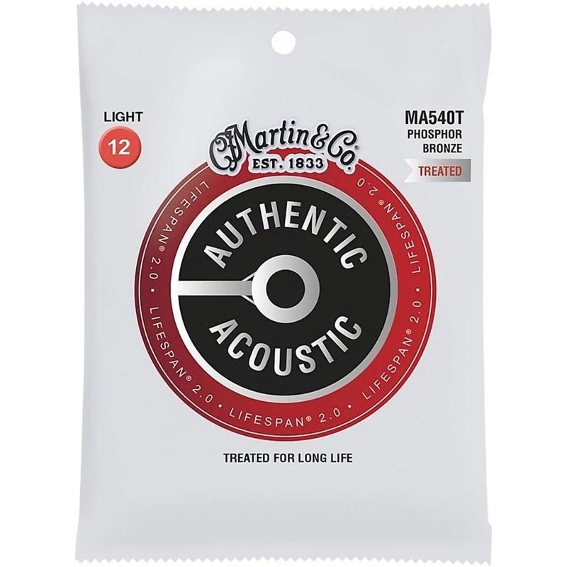 Corda para Violão Aço Authentic Acoustic MA540T 012-054 Martin