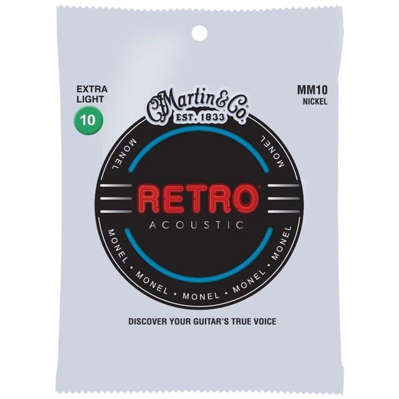 Corda para Violão Aço Retro Acoustic Extra Light 010-047 Martin