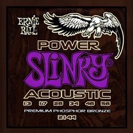 Cordas para Violão 2144 Power Slinky Acoustic (0.013-0.056) Ernie Ball