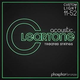 Cordas Para Violão PHOS-BRONZE Custom LIGHT 11-52 Cleartone