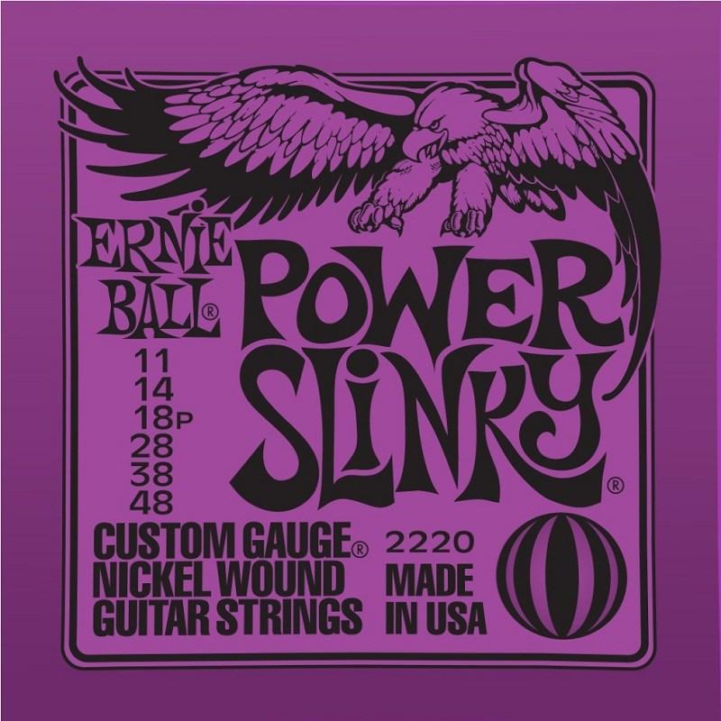 Encordamento para Guitarra 11-49 Power Slinky 2220 Ernie Ball