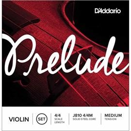 Encordamento para Violino Prelube J810 4/4 Jogo de Cordas D'Addario