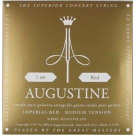 Encordoamento Augustine Imperial Red Jogo de Cordas Nylon Augustine