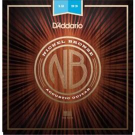 Encordoamento de Aço para Violão Nb1253 (0.012) D'Addario