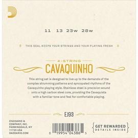 Encordoamento para Cavaquinho EJ-93 D'Addario