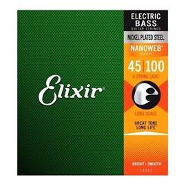 Encordoamento para Contrabaixo 0.045-0.100 4 Cordas Light Elixir