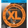 Encordoamento para Contrabaixo 4 Cordas EXL160 Escala Longa 0.050 D'Addario
