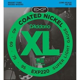 Encordoamento para Contrabaixo 4 Cordas EXP220 - 0.040-0.095 D'Addario
