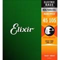 Encordoamento para Contrabaixo 4 Cordas Nanoweb 0.045-0.105 Elixir