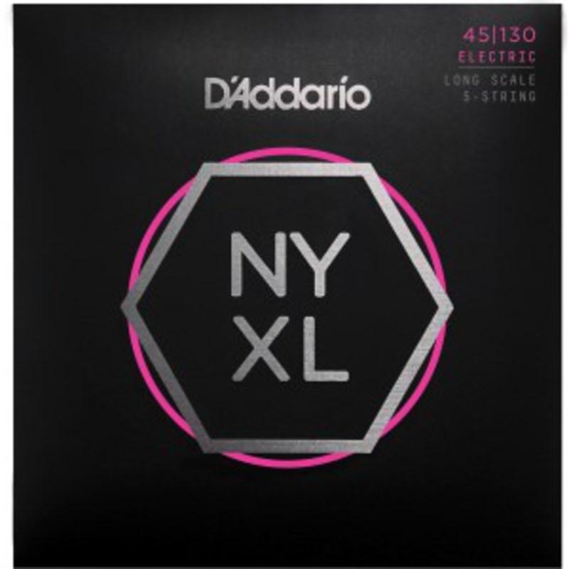 Encordoamento para Contrabaixo 5 Cordas NYXL (0.045-0.130) D'Addario