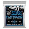 Encordoamento para Contrabaixo Extra Slinky Flatwound Lisa 0.040-0.095 Ernie Ball